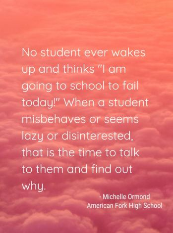 michelle ormond quote