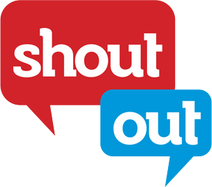 shout out clip art